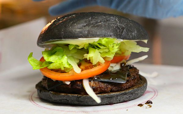 Burger King Japan's latest meal is the new black