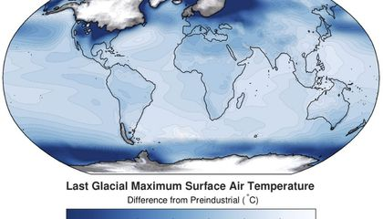 Scientists Project Precisely How Cold the Last Ice Age Was