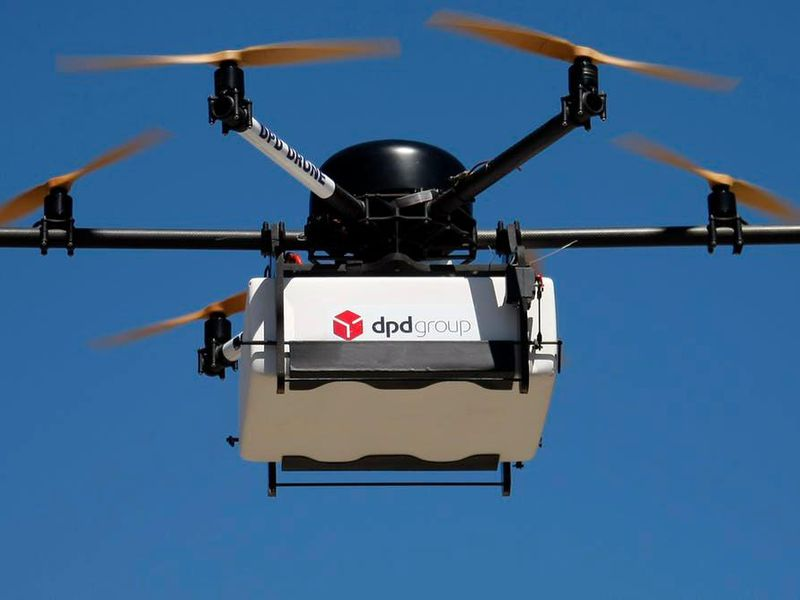 Could drone delivery help the environment?