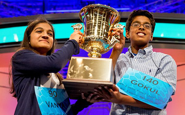 Spelling bee ends in tie, second year in a row