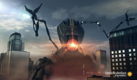 Preview thumbnail for video'F-15 vs. Alien Tripod: Who Would Win?