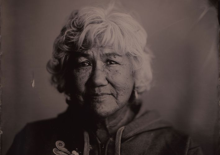 Florence Pestrikoff, One of the Remaining Speakers of Alutiiq