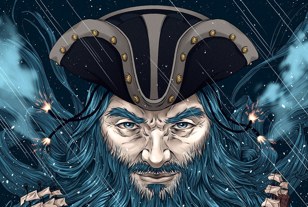 Blackbeard The History Of The Pirates Last Days History