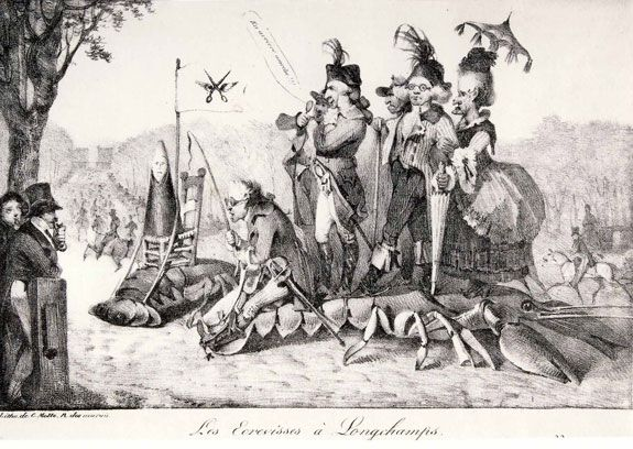 Delacroix responded with The Crayfish at Lonchamps