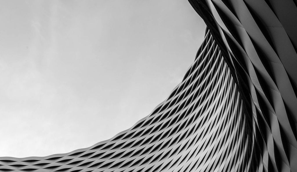 Reader Photos of Switzerland from our Photo Contest: The the edges and curves of the Messe Building in Basel, Switzerland. (Anne Kohler)