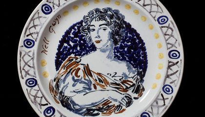 """""""Lost"""" Feminist Dinner Set Goes on Public Display for the First Time"""