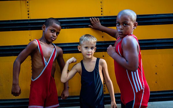 Meet the young wrestlers of Cuba