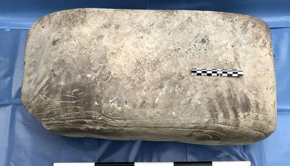 """1,000-Year-Old Handprint From """"Europe's Lost People"""" Discovered In Scotland"""