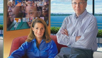 See Bill and Melinda Gates at the Portrait Gallery