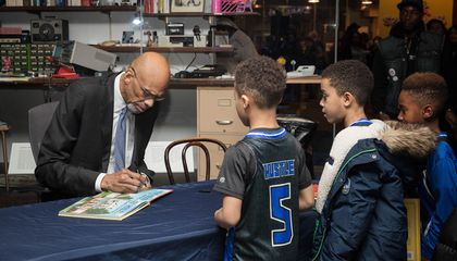 Kareem Abdul-Jabbar Travels from Court to Classroom to Highlight History of African-American Inventors
