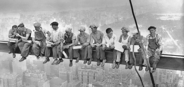 Lunch Atop A Skyscraper Photograph The Story Behind The Famous - 15 famous landmarks totally different perspective