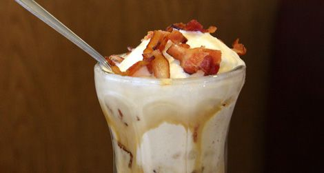 Would you eat this bacon sundae?