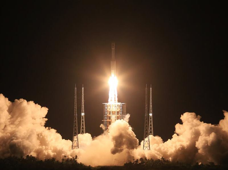 Long March 7 launch -- Xinhua.jpg