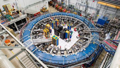 New Measurements of Muons Might Rewrite Particle Physics
