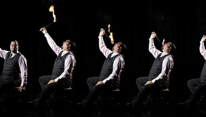 Penn Jillette Reveals the Secrets of Fire-Eating | Arts