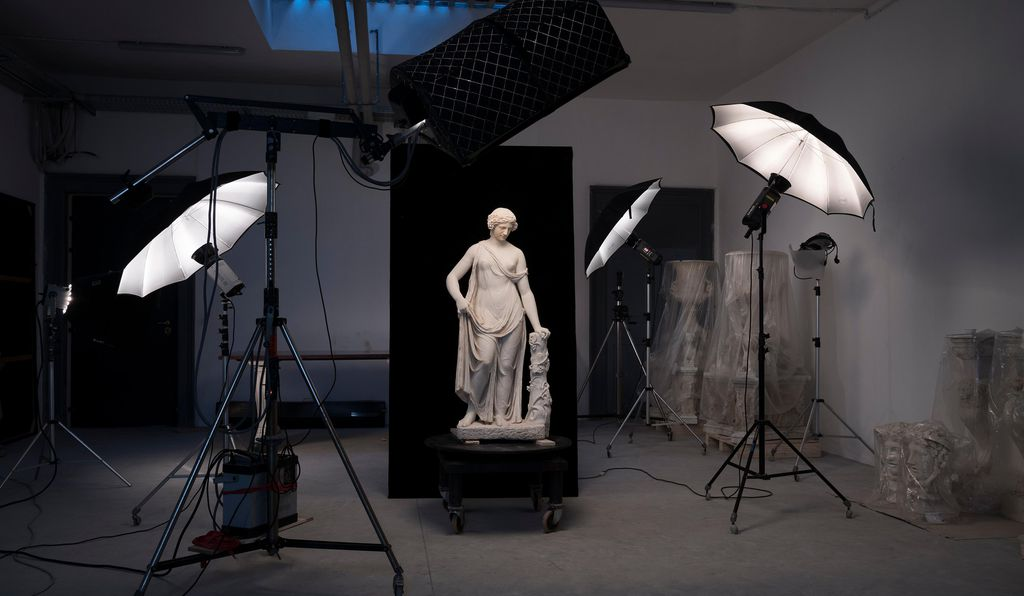 The collection boasts some 620 classical statues.
