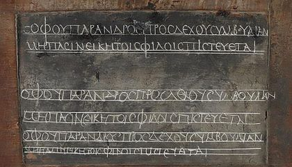 Egyptian Schoolboy's 1,800-Year-Old Lesson to Go on Display