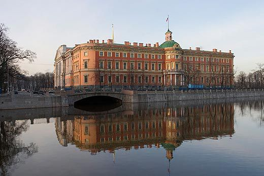 The Mikhailovsky Castle