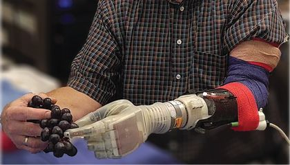 Robotic Hand Restores Wearer's Sense of Touch