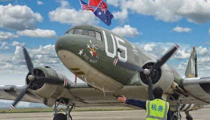 A Celebration of U.S. WWII Pilots—in China