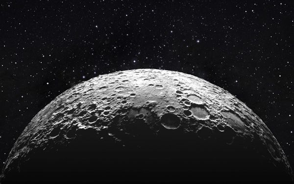 What would happen if a big asteroid hit the moon?
