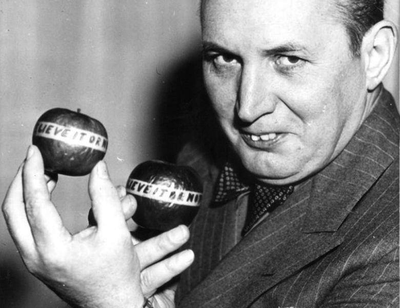 Photo of Robert Ripley, the creator of Believe It or Not