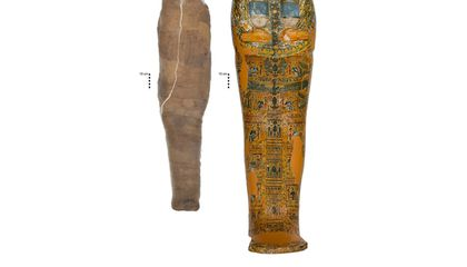 Why Was This Egyptian Mummy Encased in Mud?