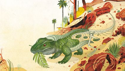 When Dinosaurs Roamed the (Not Yet) Petrified Forest
