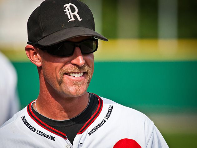Eins zwei drei strikes youre out at the ol ballgame travel martin brunner assistant coach of the regensburg legionaere and founder of the regensburg baseball academy says that something about the game appeals to sciox Images