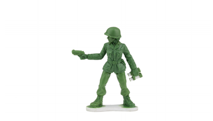 'Little Green Army Men' Will Soon Feature Female Toy Soldiers