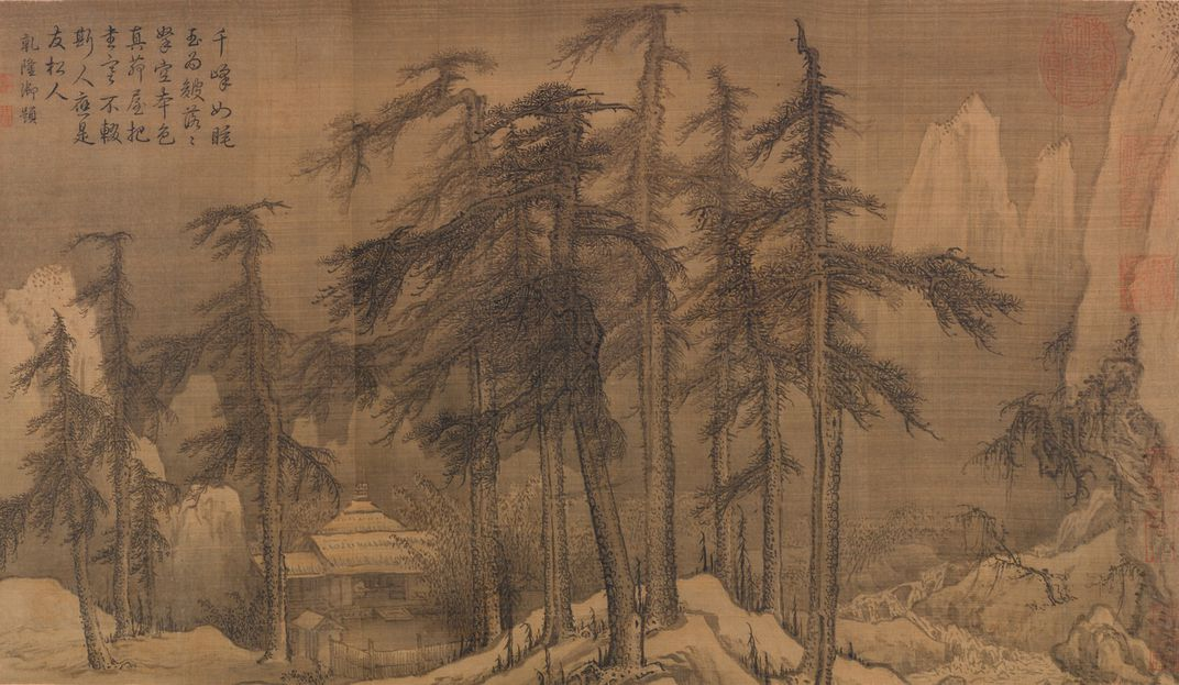 northern sung dynasty landscape painting influences essay Wong's sketches for the 1942 disney film bambi recalled the lush mountain and forest scense of sung dynasty landscape paintings (by tyrus wong) wong's work appeared also in the 1969 film, the wild.
