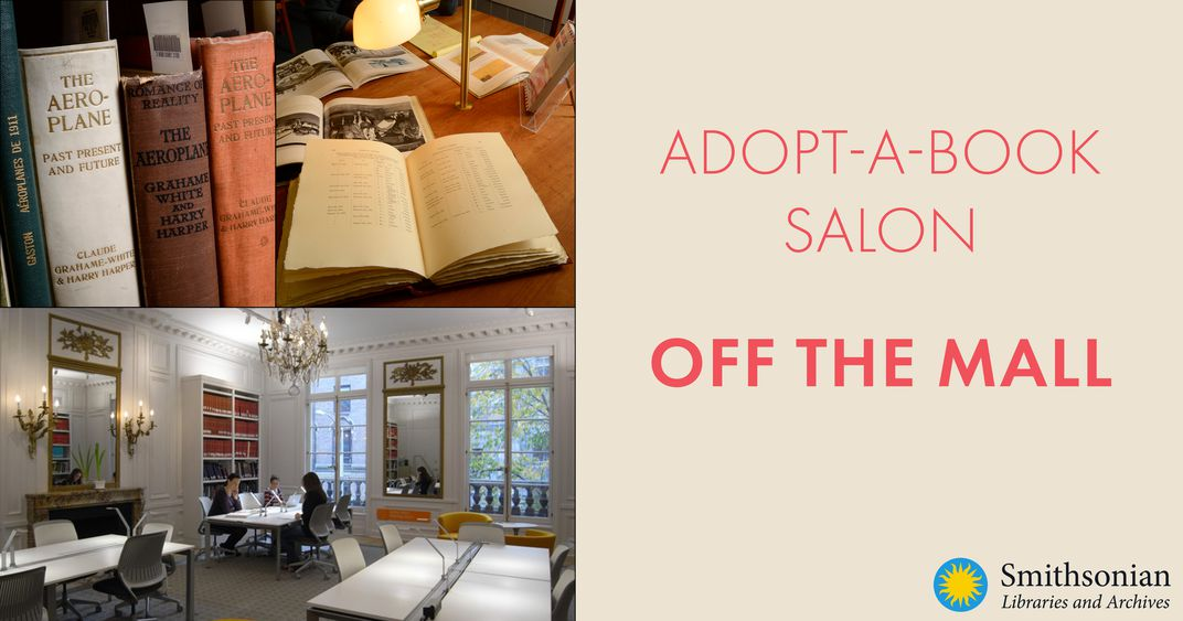 Graphic for Adopt-a-Book Salon: Off the Mall