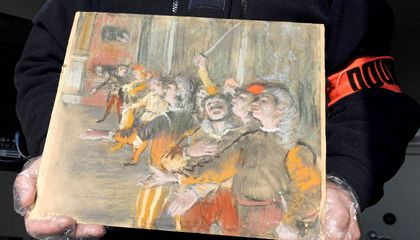 Stolen Degas Found in Luggage Compartment of French Bus