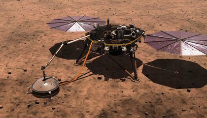 InSight Lander's First Big Batch of Data Reveals Mars' Seismic Activity and Surprising Magnetism