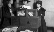 Congress finally passed the suffrage amendment in January 1918