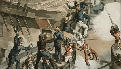 How the Bloodiest Mutiny in British Naval History Helped Create American Political Asylum