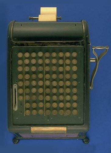 Caption: The History of America's First Adding Machine
