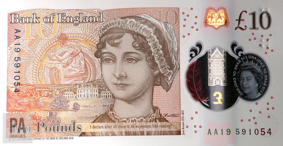 The Jane Austen £10 Note Extends the