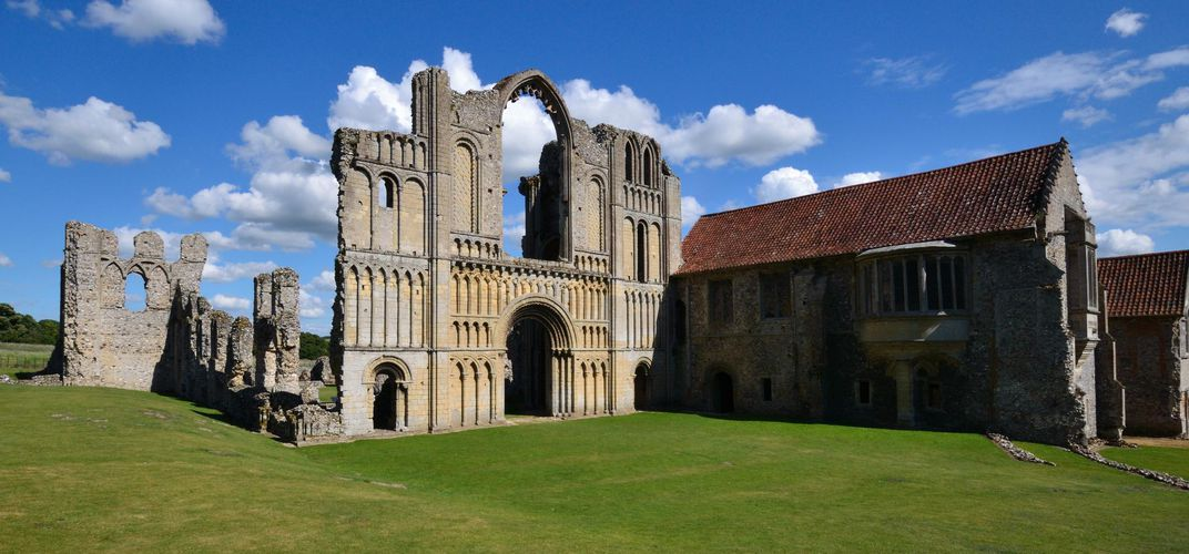 Castle Acre Priory, Loire Valley