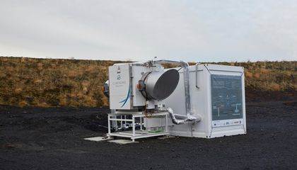 First 'Negative Emissions' Plant Opens in Iceland, Turning Atmospheric CO2 Into Stone