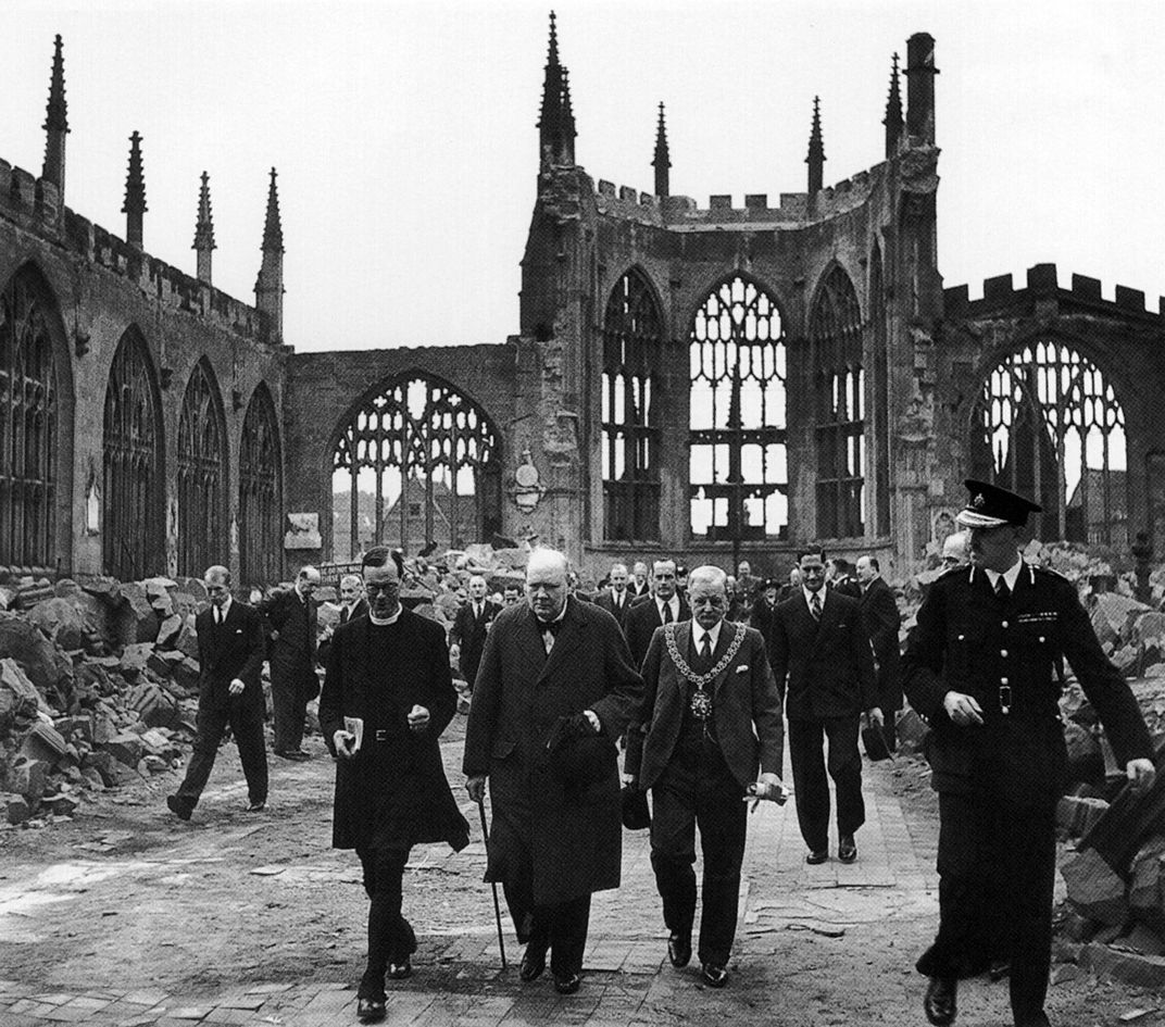 Winston Church views wreck of Coventry Cathedral.jpg