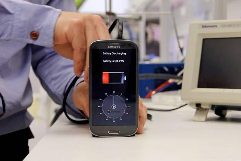 Image result for Nanotech-based device your phone in seconds