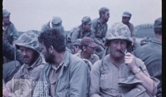 Preview thumbnail for video'U.S. Marine Corps Archival Footage: 27th and 28th Marines Embarkation at Iwo Jima
