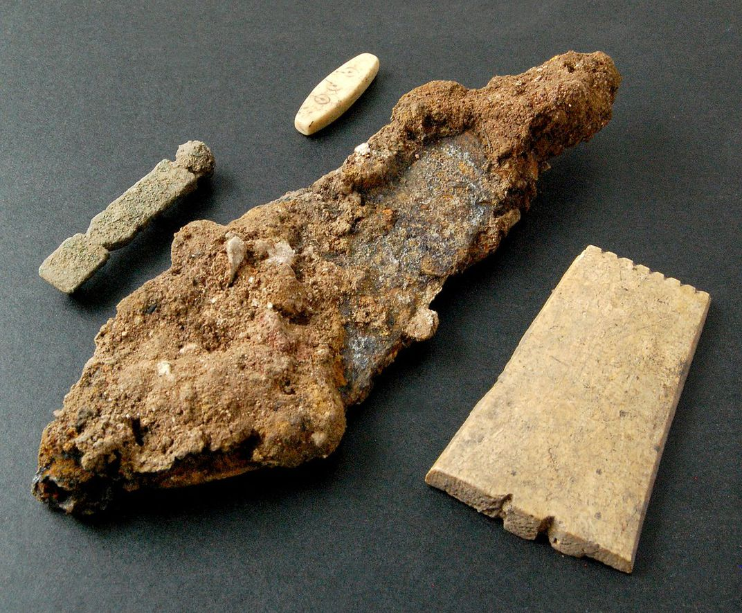 Roman artifacts found in England