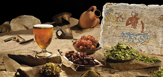The beer archaeologist history smithsonian for Ancient israelite cuisine