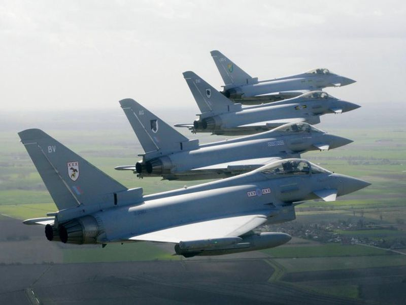 Europe's Typhoon Fighter | Military Aviation | Air & Space Magazine