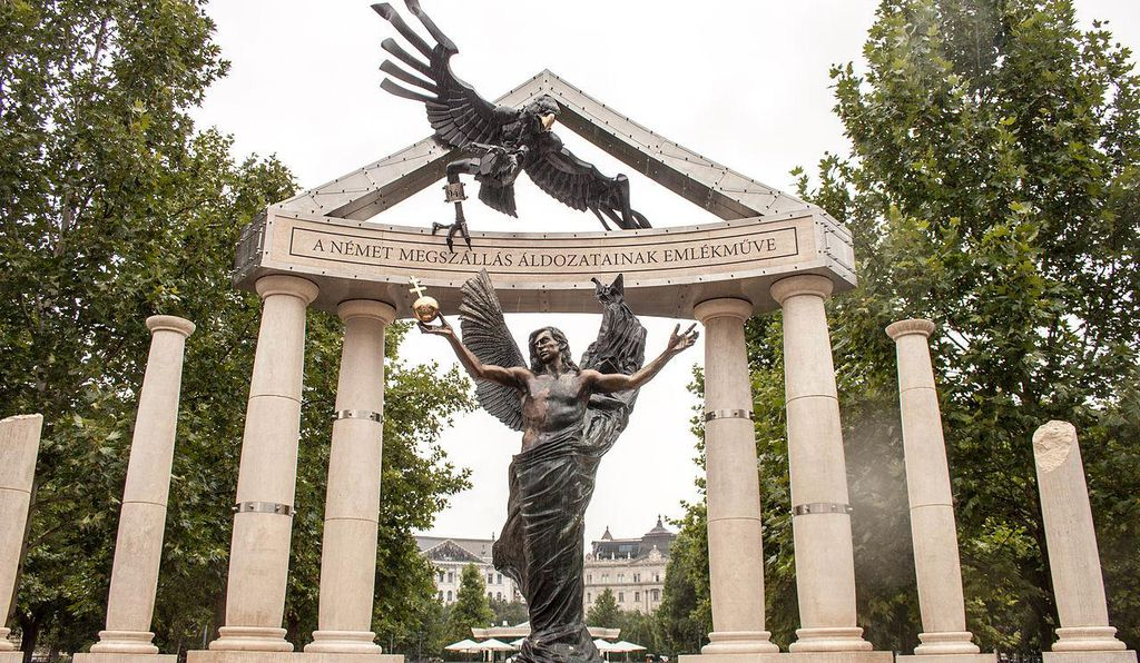 """""""Memorial to the victims of the German occupation"""