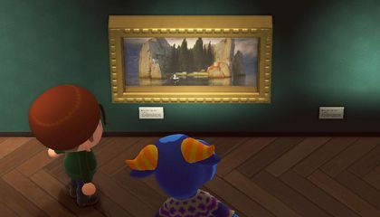 Can You Spot Animal Crossing's Art Forgeries?