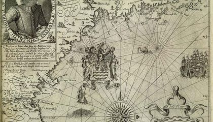 John Smith Coined the Term New England on This 1616 Map