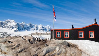 Would You Live in an Antarctic Penguin Post Office?